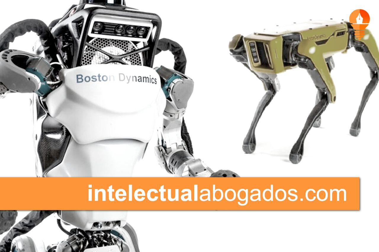 boston dynamics robots patentes propiedad intelectual abogados robotica