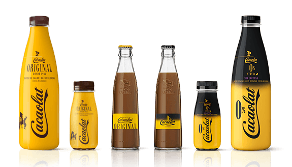 imagen botella cacaolat marca registrada